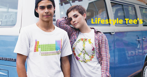 Online T Shirts Lifestyle Tee's