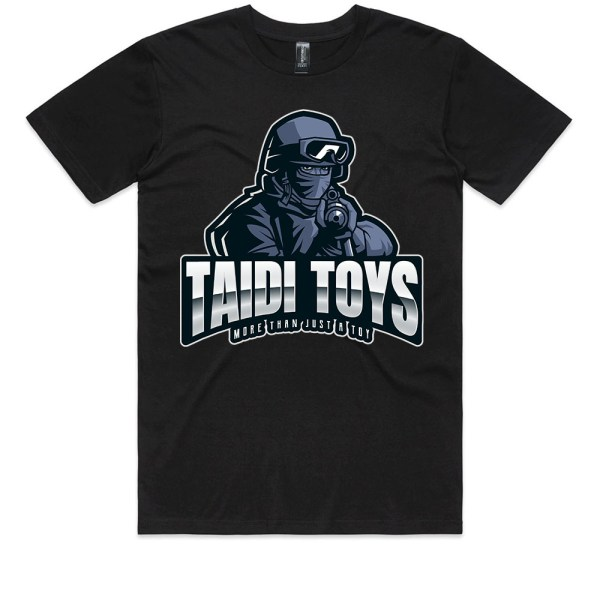 TAIDI More Than Just a Toy SOLDIER Kids Black T Shirts