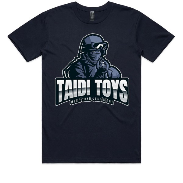 TAIDI More Than Just a Toy SOLDIER Kids Navy T Shirts