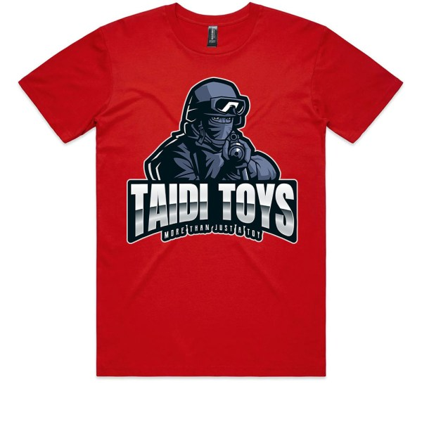 TAIDI More Than Just a Toy SOLDIER Kids Red T Shirts