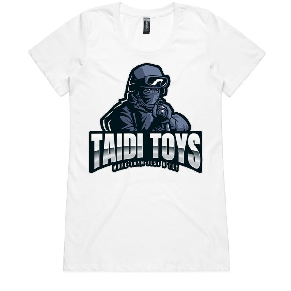 TAIDI More Than Just a Toy SOLDIER Ladies T Shirts