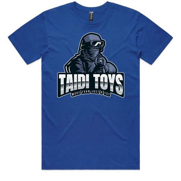 TAIDI More Than Just a Toy SOLDIER Men Royal T Shirts
