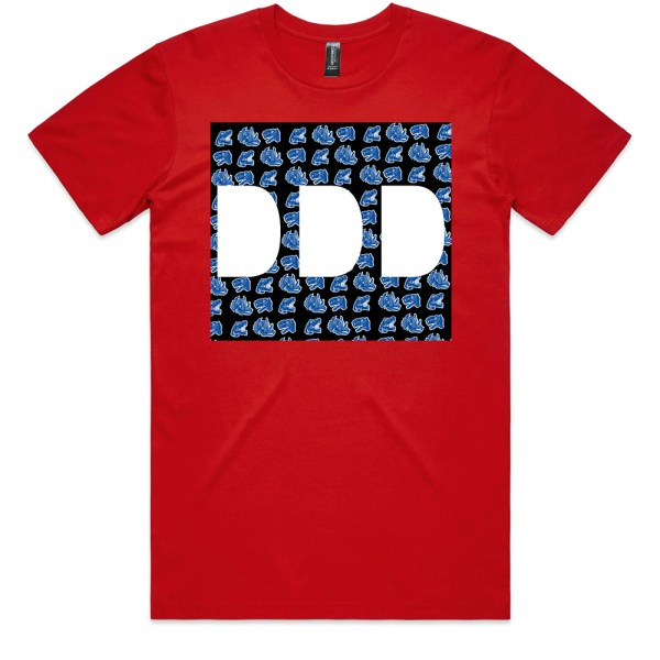 Dead Dirty Dinosaurs 010 Men Red T Shirts