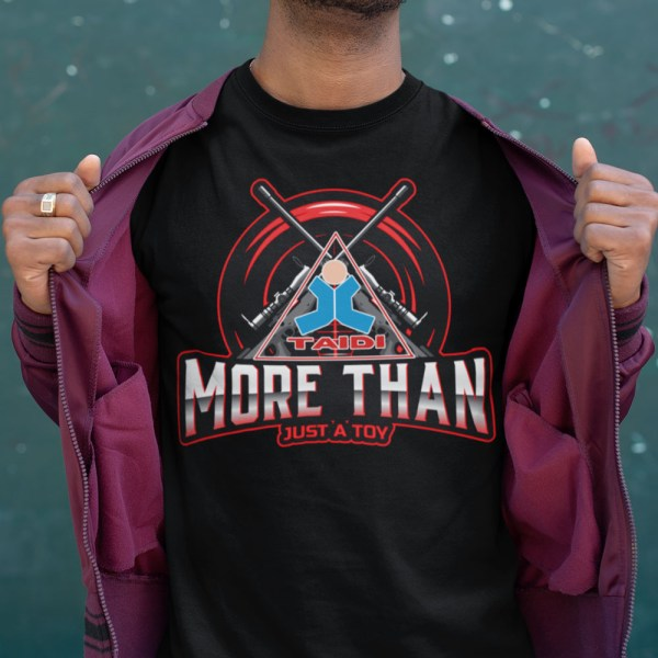 TAIDI More Than Just a Toy Crest Men T Shirts