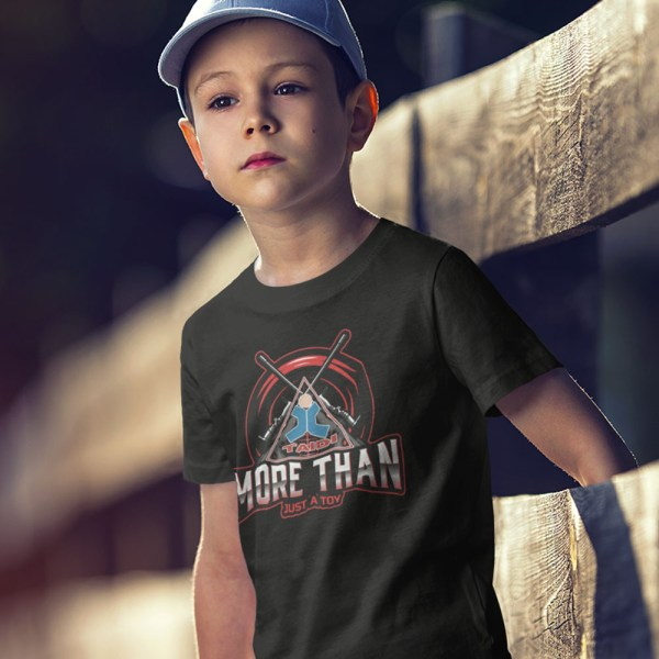 TAIDI More Than Just a Toy Crest Kids T Shirts