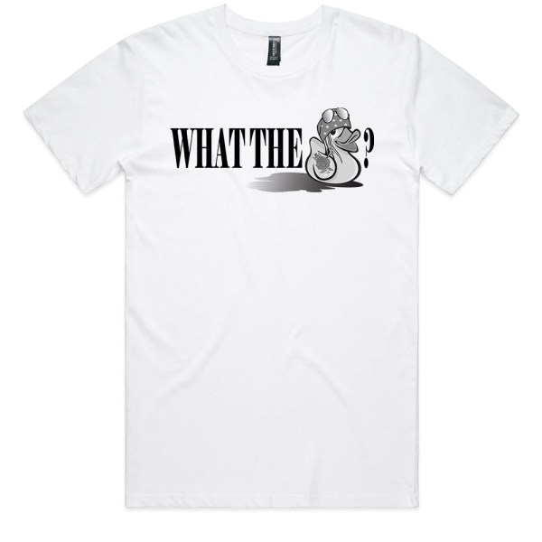 What the Duck Men White T Shirts