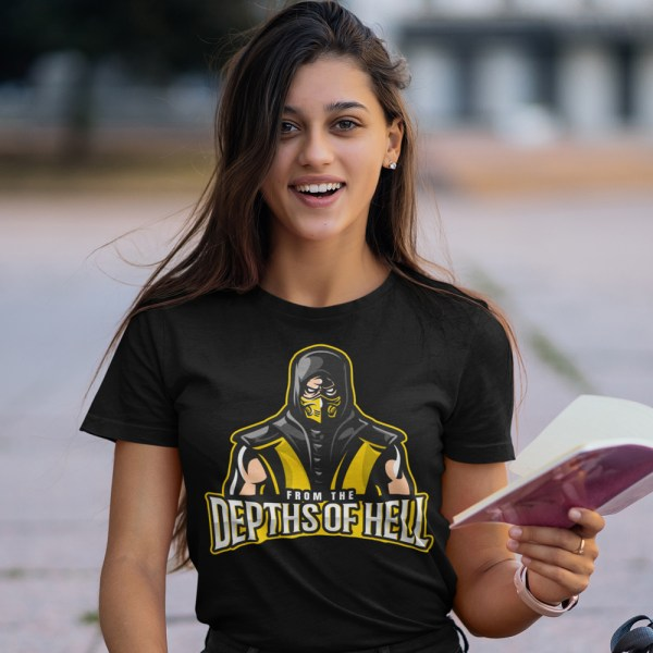 From The Depths Of Hell Ladies T Shirts