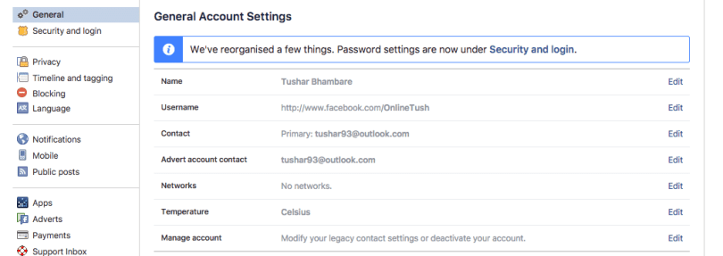 facebook-General-Account-Settings