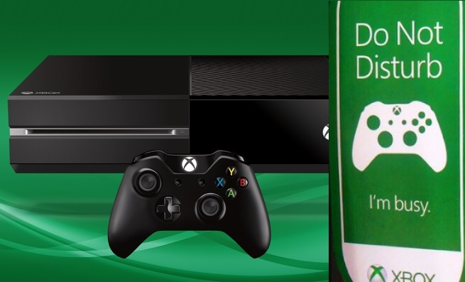 Xbox One's latest update includes a do not disturb mode so