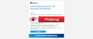 2017-10-24 PayPal Spam Bitte Sie Ihr Konto aktualisieren