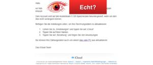 E-Mail von iCloud