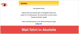 DHL Mail Abofalle