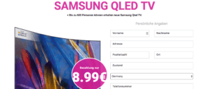 2019-08-04 Junk-Mail verspricht Samsung QLED TV und liefert Abofalle