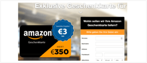 2019-09-17 E-Mail Amazon Abofalle Fake-Mail Spam Geschenkkarte