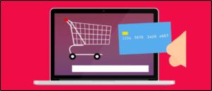 Bezahlen beim Onlineshopping