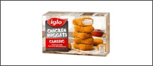 Rückruf iglo Chicken Nuggets