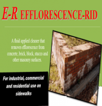 Efforescence_rid -removes Efforescence_from concrete-brick-masonry