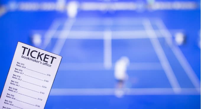 Tennis bookmakers