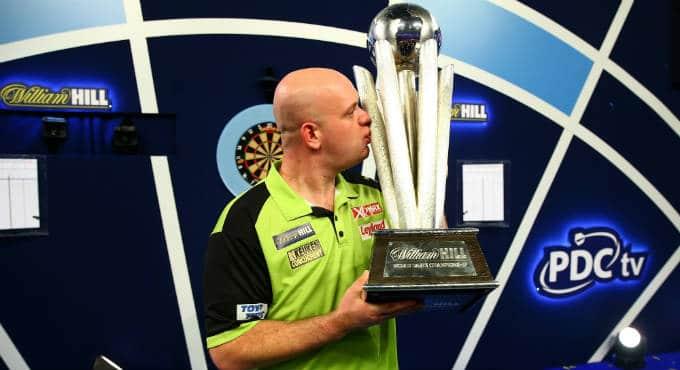 WK Darts trofee