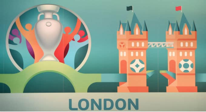 Speelsteden EK voetbal Londen