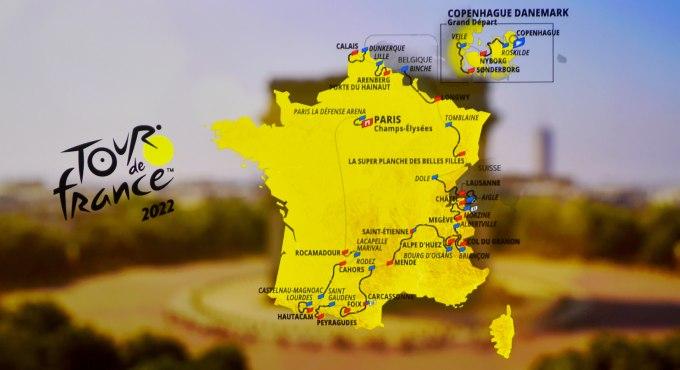 Tour De France Parcours 2022