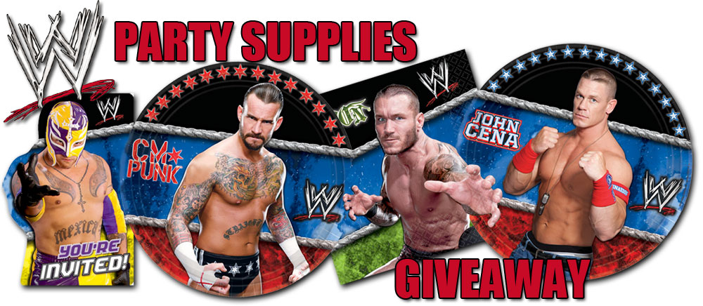Shop All WWE Party Supplies Bring the ring into your house to stage a Smackdown Birthday Party! The stars, John Cena, Rey Mysterio, and Randy Orton will be on .