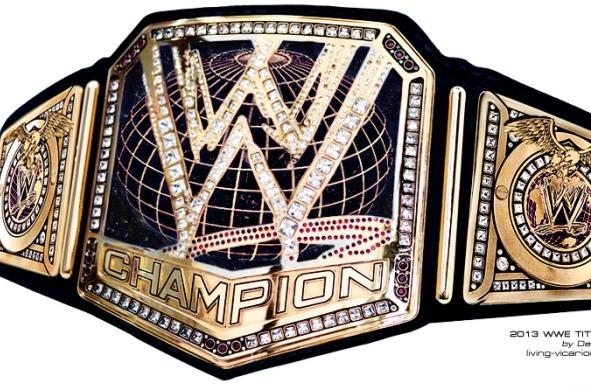 WWE 2013 TITLE DZ EDIT BLACK