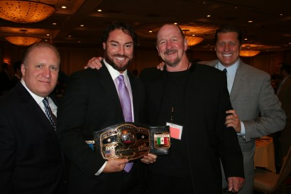 Funk with Conway NWA belt  (M. Lano)