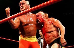 Hogan and Ric Flair