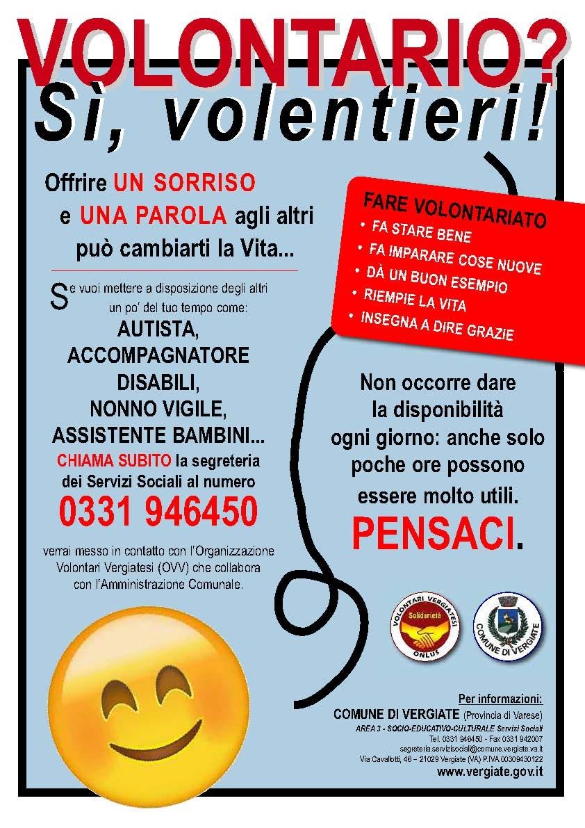 Volantino diventa volontario 2017