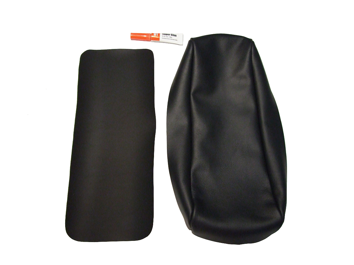 leather armchair covers exercise ball as chair benefits porsche 944 genuine black center arm rest cover