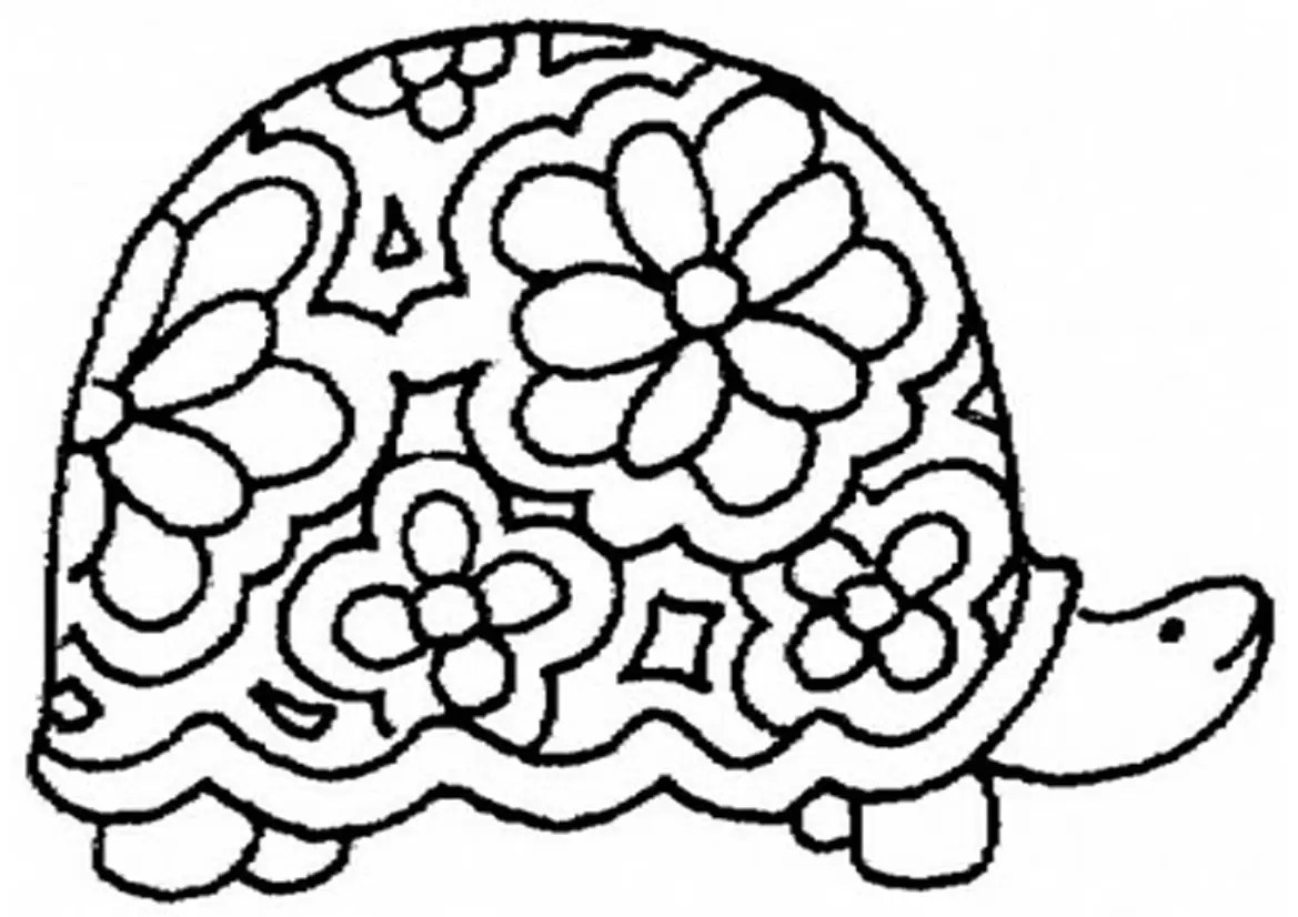 Rabbit And Turtle Coloring Page Coloring Pages