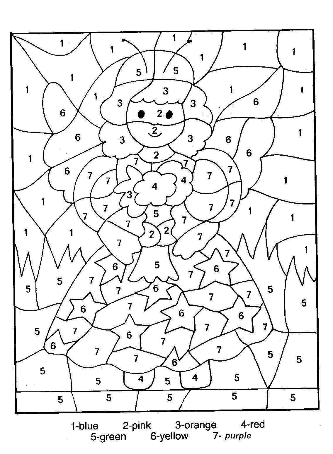 Number Coloring Pages