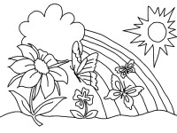 spring coloring pages | Only Coloring PagesOnly Coloring ...