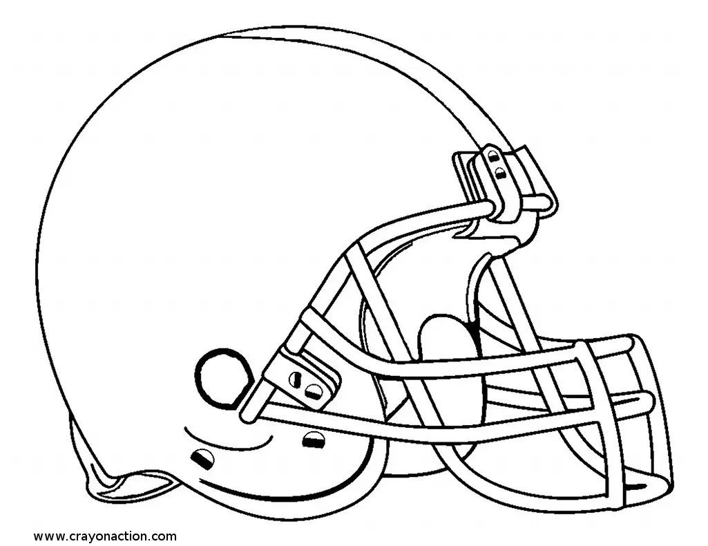 American Football Coloring Pages Coloring Pages