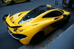mclaren p1 taxi 2