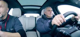 Video: Ο Murinho απολαμβάνει τη Jaguar F – PACE στο χιόνι