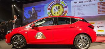 Το Opel Astra Car Of The Year 2016