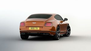 bentley continental gt speed black edition 2