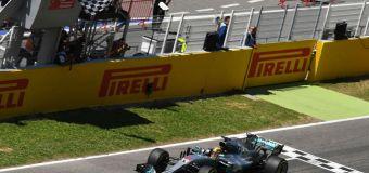 Τεράστια νίκη Hamilton στο Ισπανικό GP