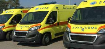 143 νέα ασθενοφόρα στο ΕΚΑΒ