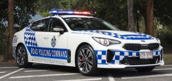 Η αστυνομία της Αυστραλίας εξοπλίζεται με Kia Stinger
