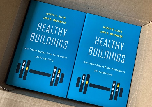 image of the healthy buildings book