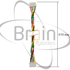 Msh Brain Wiring Diagram 80cc Bike Motor Bluetooth Crius Multiwii Adapter Cable 210mm