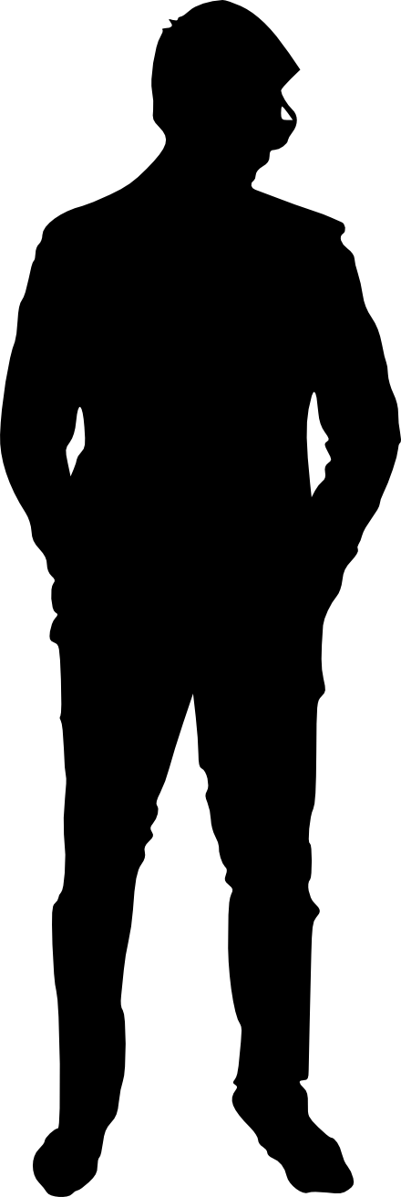People Silhouette Clear Background