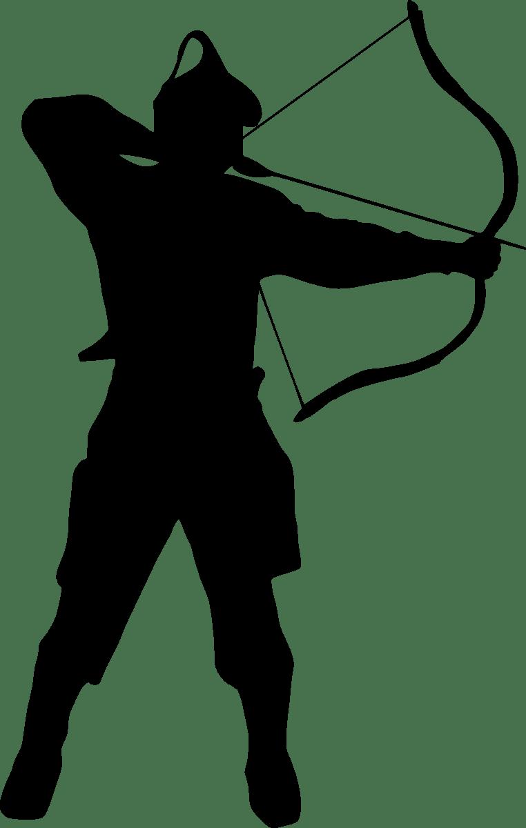 7 Archer Silhouette PNG Transparent  OnlyGFXcom