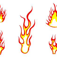5 fire flame clipart png transparent  [ 1123 x 794 Pixel ]