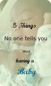 5 things no one tells you about having baby pin