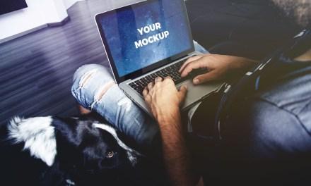 Free Macbook Pro 13-Inch Mockup