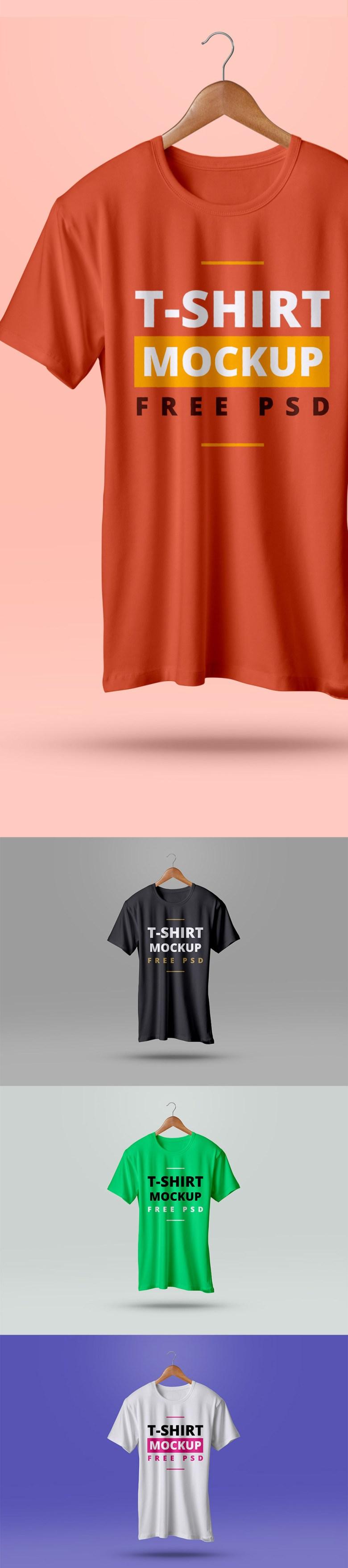 Free-T-Shirt-Mockup-PSD